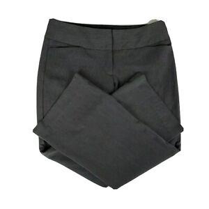 Express-Editor-Boot-cut-Women-039-s-Gray-Career-Trouser-Dress-Pants-Size-10