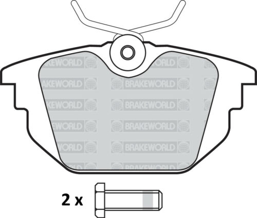 REAR DISCS AND PADS FOR ALFA ROMEO SPIDER 2.0 TURBO 1995-01 OEM SPEC FRONT