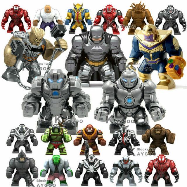 Big Figure IRON MONGER Super Heroes Marvel DC WHIPLASH Building Blocks Lego Fit