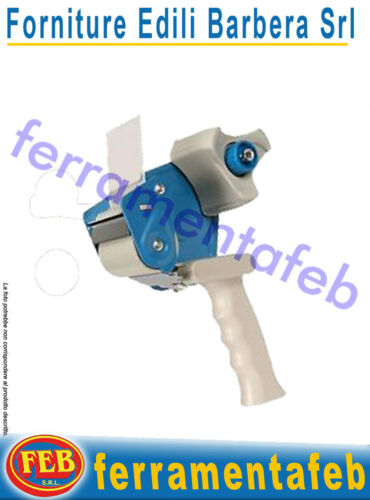 DISPENSER PISTOLA TENDI NASTRO ADESIVO APPLICATORE MANUALE SCOTCH IMBALLAGGIO