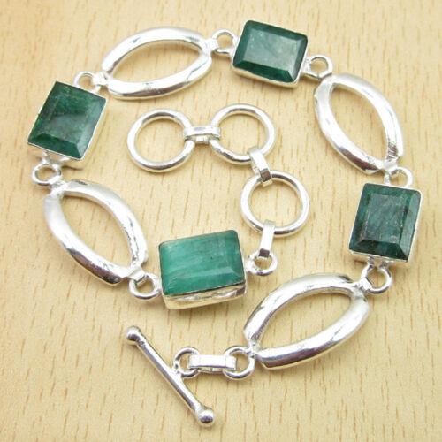 styles Beaucoup De Pierres Véritable Péridot /& d/'autres Pierres précieuses 925 Plaqué Argent Bracelets NEUF