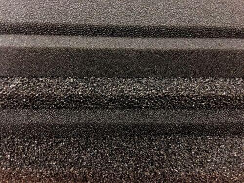 Filtermatte Filterschwamm schwarz 50 x 50 x 2 cm FEIN 30 PPI Garnelen