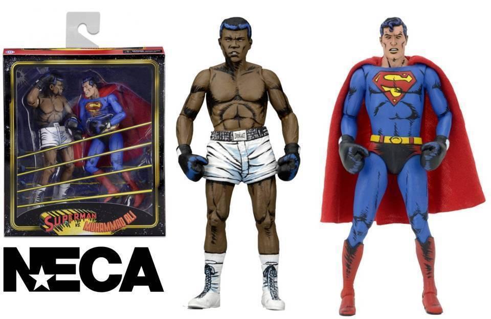 Action Figure Superman vs. Muhammad Ali DC Comics Special Edition 2-Pack Neca