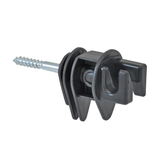 Pferde Weidezaun 25x Breitband Isolatoren Isolator NEU 40mm auch Seilisolatoren