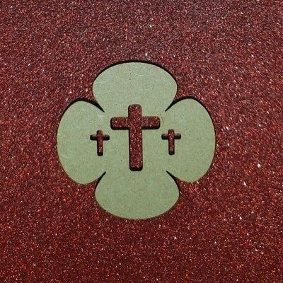 Laser Cut Rustic MDF Poppy Remembrance Day WW1  Centenary 40mm to 100mm