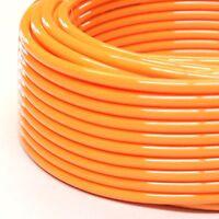 1pc Polyurethane Tubing 1/4 Od Orange 30 M ( 98 Ft) Pu Mettleair Pu1/4-30or