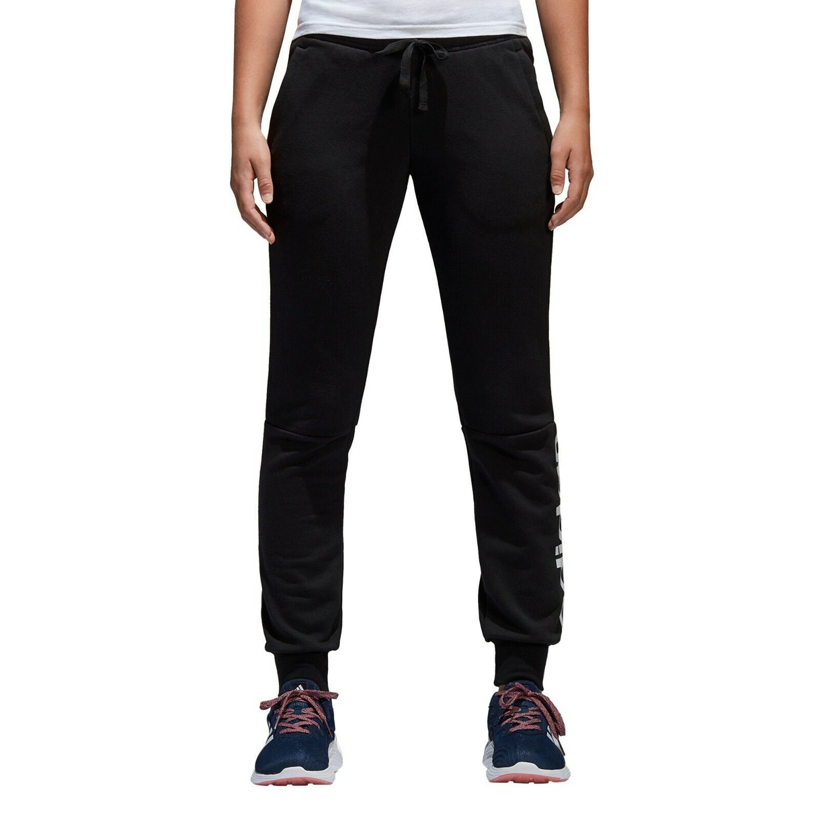ac4dfacf94dfb2 Adidas Women Pants Athletic Essentials Linear Trousers S97154 Training  Running