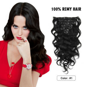 8pcs-Brazilian-Virgin-Remy-Human-Hair-Clip-In-Body-Wave-Hair-Extensions-100g-1
