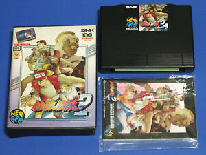 FATAL-FURY-2-Garou-Densetsu-SNK-Neo-Geo-AES-Import-Japan