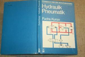 Fachbuch-Hydraulik-Pneumatik-Maschinenbau-DDR-Motoren-Pumpen-1980