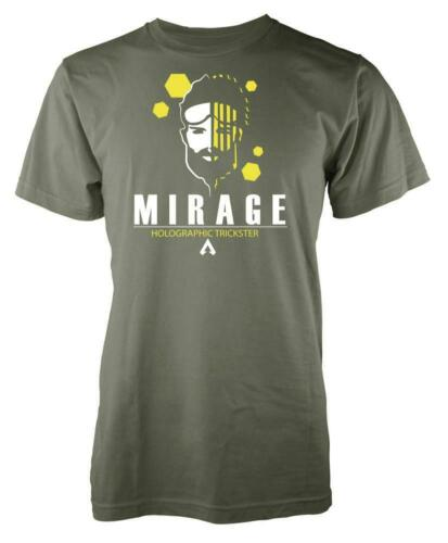 Gaming Apex Mirage Holographic Trickster Legends Adult T Shirt