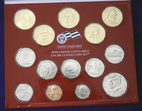 "Complete and Original. Mint Set 28 coins both /""p/"" and /""d/"" mints. 2010 U.S"