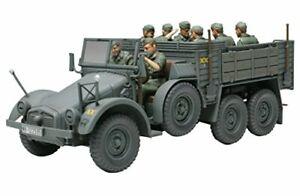 Tamiya 1//35 Military Miniature Series No.317 German Army Krupp Purottsue Kf