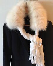 Real Chinchilla Fur Collar