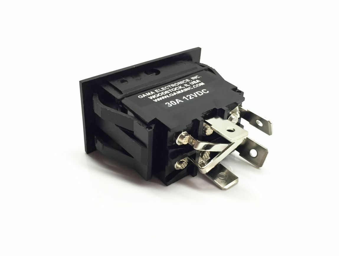 30 Amp Rocker Switch Polarity Reverse Dc Motor Control Ebay Toggle Switches Specialty Circuit Dpdt Norton Secured Powered By Verisign