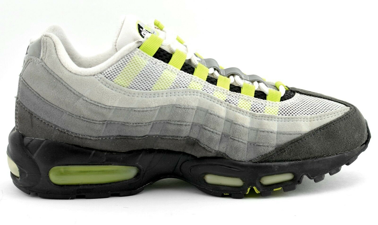 MENS NIKE AIR MAX 95 CLASSIC RUNNING SHOES SIZE 9 GRAY 313111-071 2005