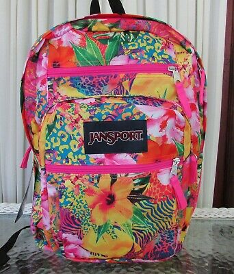 NWT JANSPORT Big Student Backpack ICE CREAM CONES AND SCOOPS