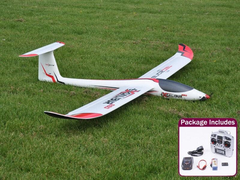 TecZone Excalibur 260 Radio Control Model Glider - Ready to Fly