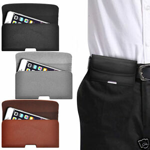 Horizontal-PU-Leather-Pouch-Belt-Clip-Case-For-Nokia-808-PureView