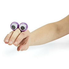 Lot of 8 Plastic Halloween Eye Peeper Rings Haunted House Party Favors OOBI