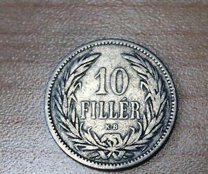 1893 Hungary 10 Filler