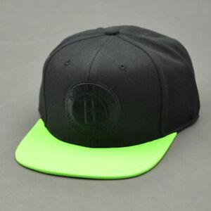 Adidas-Hat-NBA-Neon-Brooklyn-Black-Green-Mod-M30660