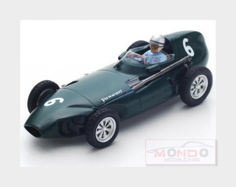 Vanwall F1 Vw5  6 3Rd Belgium Gp 1958 S.Lewis Evans verde SPARK 1:43 S4871