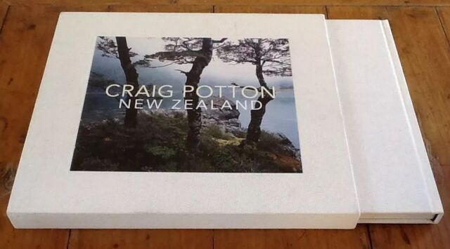 New Zealand by Craig Potton 2012 SIGNED Deluxe Edition Photography