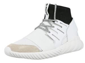 Adidas-tubular-Doom-Sneaker-Taille-44-Chaussures-De-Loisirs-Chaussures-Blanc-Nouveau