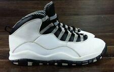 size 40 2b2f1 90ad0 2013 Nike Air Jordan X 10 Retro STEEL Grey White 310805-103 Size 11.5