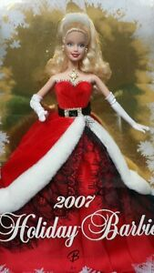 Holiday-Barbie-2007-and-Barbie-2007-Collector-Edition