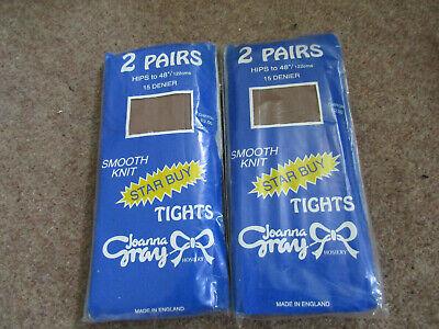 Ladies Joanna Gray 15 Denier M L XL Everyday Sheer Tights Stockings DIAMOND