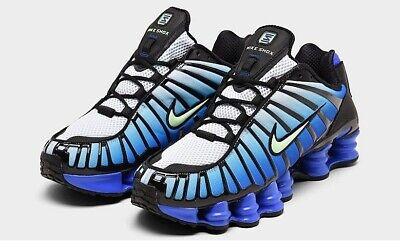 difícil Compuesto Bermad  AUTHENTIC NIKE SHOX TL Black Vapor Green Racer Blue Running Shoes Men size  | eBay