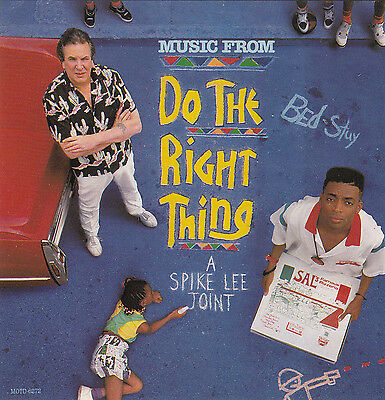 Do The Right Thing-1989-Original Movie Soundtrack-11 Track-CD