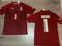 Fw14 Puma Italy Size M Buffon Goalkeeper Dr Gk Match Shirt Jersey Wcup Italia