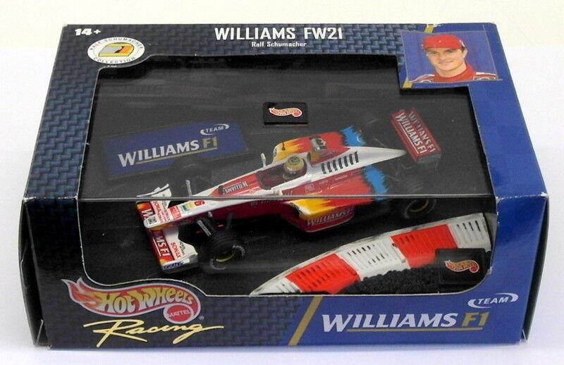 entrega de rayos Hot Hot Hot Wheels 1 43 Scale Diecast 24625 - F1 Williams FW21 - R.Schumacher  punto de venta barato