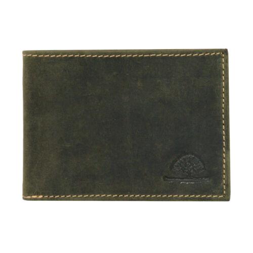 Greenburry Vintage 317-30 Leder Geldbeutel Geldbörse Portemonnaie mit Münzfach