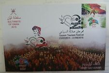 Oman 2015 Salalah Tourism Festival  ( Oman Post philatelic cover )