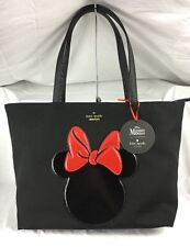 NWT Kate Spade Disney Minnie Mouse Francis Black Tote Bag Shopper
