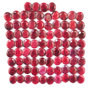 84-Pcs-12mm-10mm-Natural-Ruby-Pigeon-Blood-Red-Oval-Cut-Gemstones-Wholesale-Lot