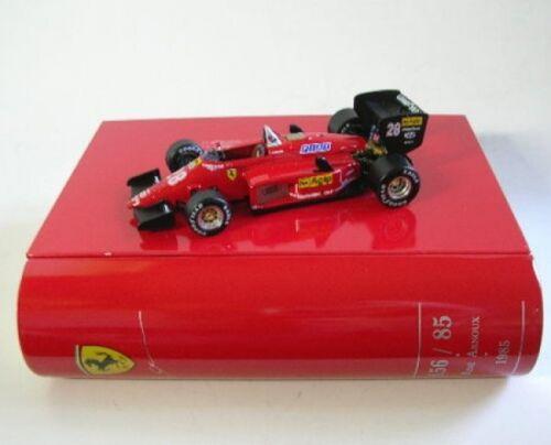 Ferrari 156-85 nº 288 R Arnoux Brazil gp 1985