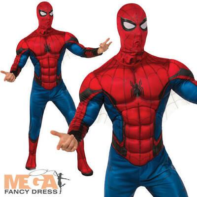 "38/"" - 42/"" chest Brand New Marvel ADULT Spider-Man Fancy Dress Size STD"