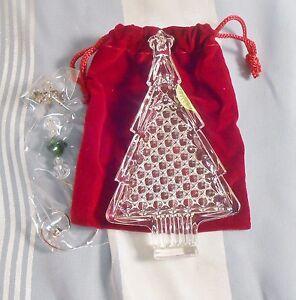 Waterford 2016 Christmas Tree Crystal Christmas Ornament ...