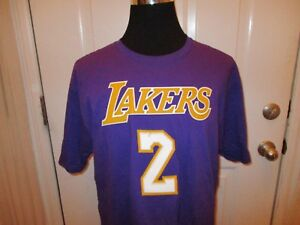 57049ce4868 Image is loading New-Los-Angeles-Lakers-Adidas-Authentic-Lonzo-Ball-