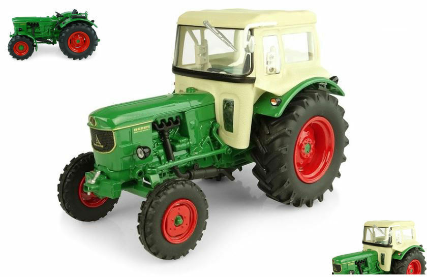 Deutz D6005 2wd With Cabin Tractor 1:32 Model 5252 UNIVERSAL HOBBIES