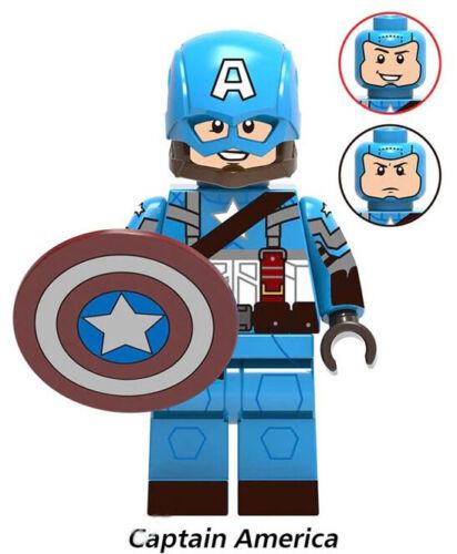 Endgame Marvel Iron Man Chitauri Loki Black Widow Thor Avengers Building Blocks