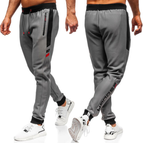 Trainingshose Jogger Sporthose Hose Fitness Sport Motiv Herren BOLF 6F6 Classic