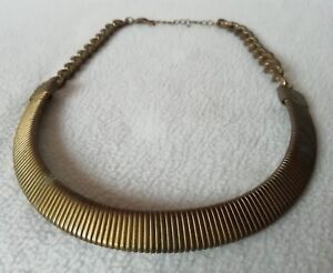Antique-Collier-Brass-for-Woman-Year-1950-1960-in-Clean