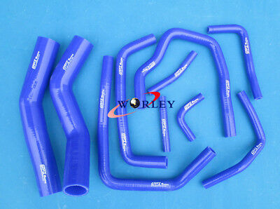 For Toyota Land Cruiser HDJ80 1990-1997 Silicone Radiator & Heater Hose BLUE