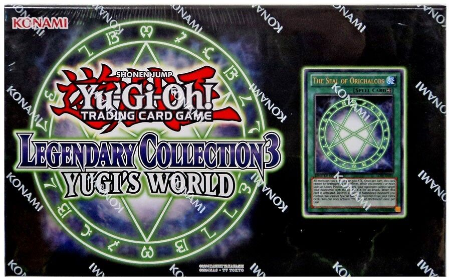 YuGiOh Legendary Collection 3  Yugi's World Special Edition Set [Sealed]